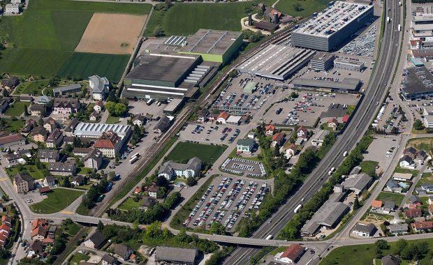 16 Neubau Autolager Efag Safenwil Foto Balken